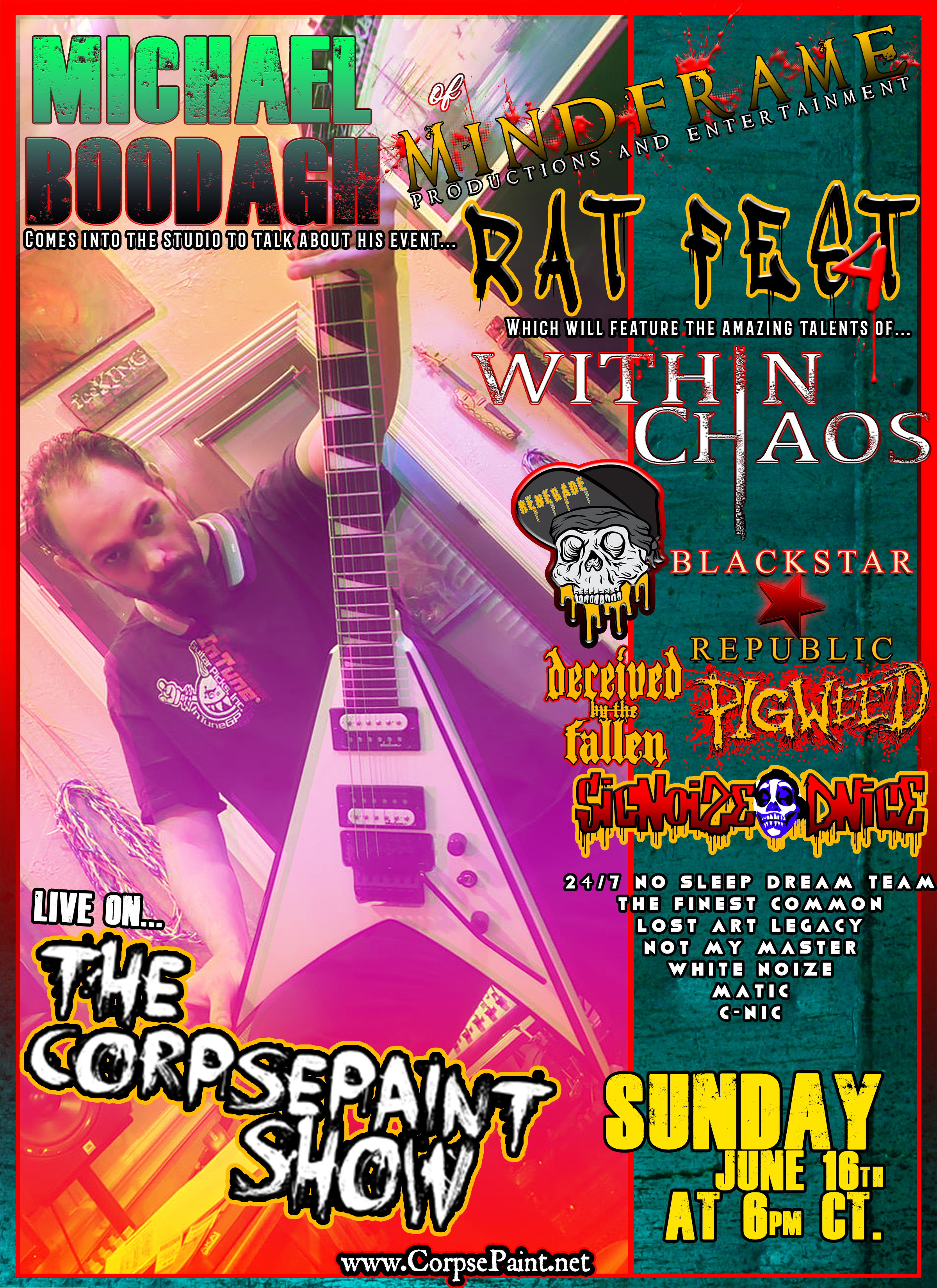 Episode 22 - June 16th 2019 Rat Fest 4