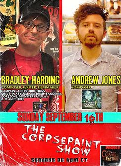Sept 16th - Bradley Harding AND aNDREW j