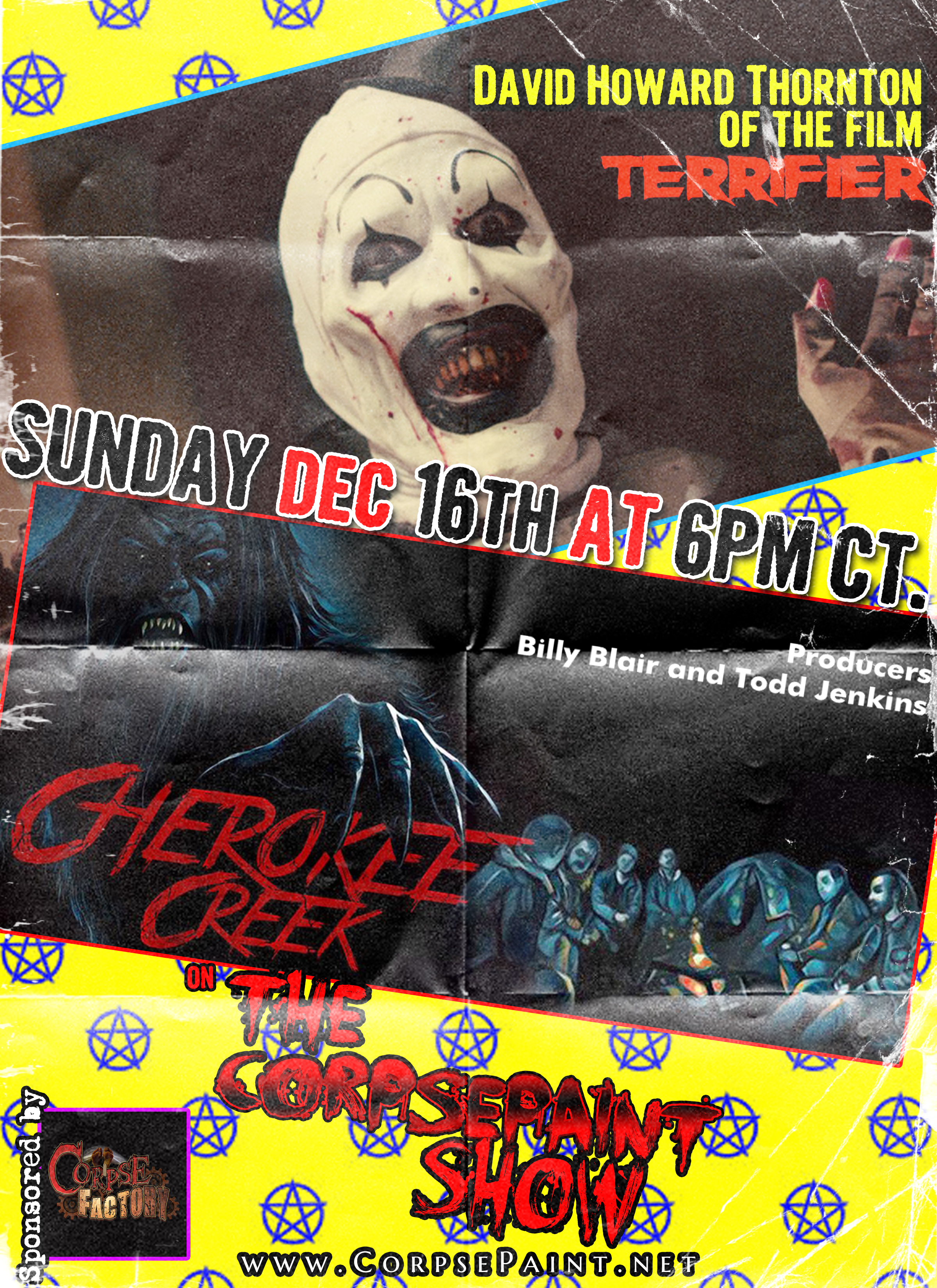 Dec 15th - Terrifier