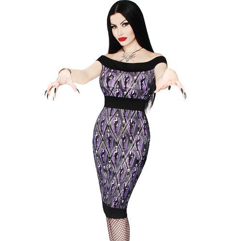 VAMPIRA ARGHOUL PENCIL DRESS