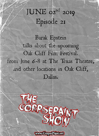 Episode 21 - June 02nd 2019 Oak Cliff Fi