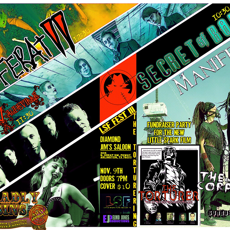 LSF Fest III: The Torturering (Film Fundraiser Party)