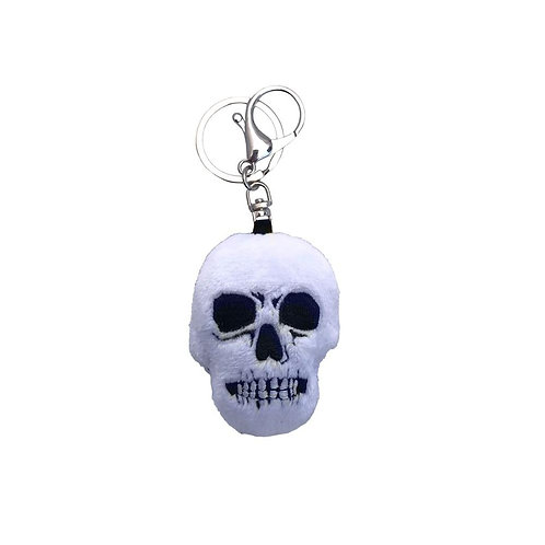 Skull Plush Key Chain
