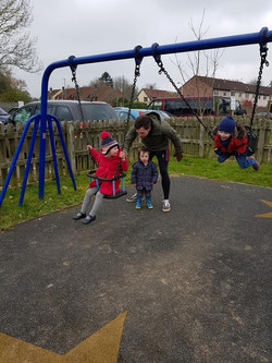 A trip to the local park