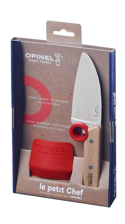 Couteau de cuisine pour enfant + protection