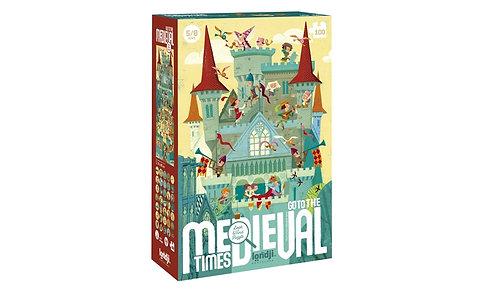 """Puzzle """"cherche et trouve"""" go o medieval"""