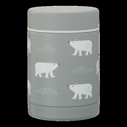 Boite repas et soupe - 300ml - ours polaires