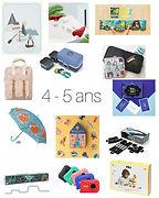 idées cadeaux 4 - 5 ans