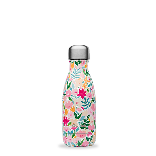 Bouteille isotherme - 260ml - flora rose