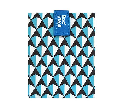 Emballage sandwichs Boc'n'Roll - tiles bleu