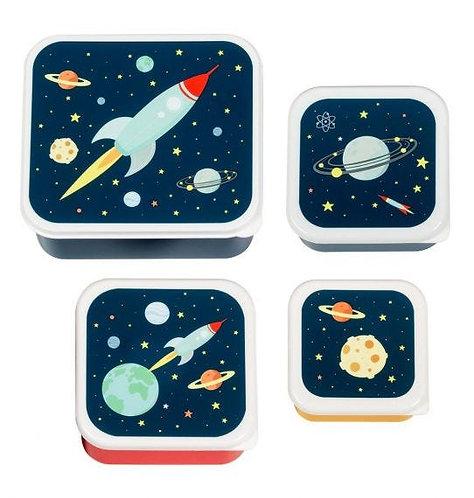 Set 4 boites - espace
