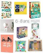 idées cadeaux 6 - 8 ans