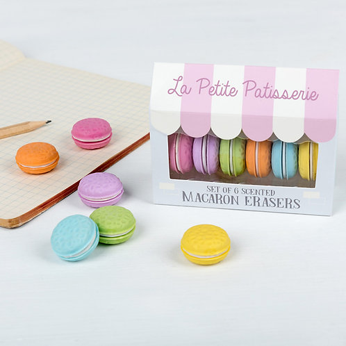 Gommes macarons
