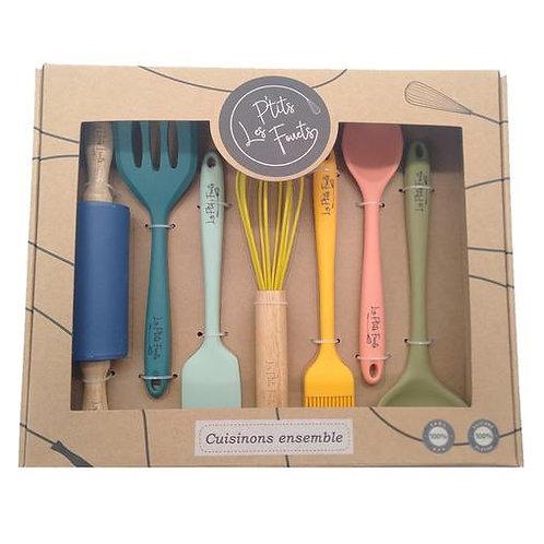 Set d'ustensiles de cuisine pour enfants