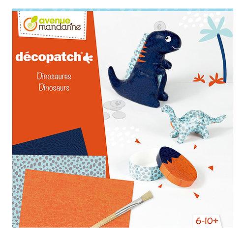 coffret créatif Décopatch - dinosaures