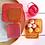 Thumbnail: Set 4 boites - paillettes rose