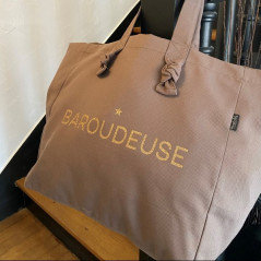 Cabas lily - baroudeuse - taupe