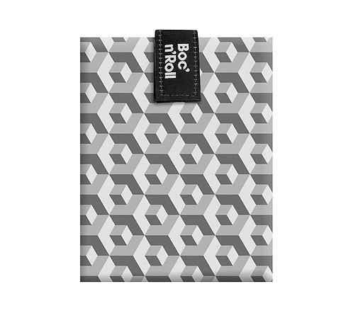 Emballage sandwichs Boc'n'Roll - tiles gris