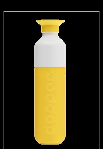 Bouteille originale Dopper plastique - 450ml - jaune