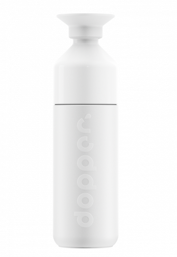 Bouteille Dopper isotherme - 580ml - blanc