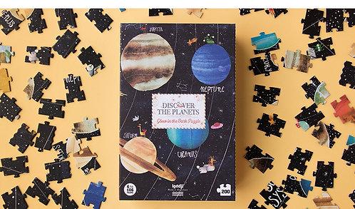 Puzzle - découvrir les planètes