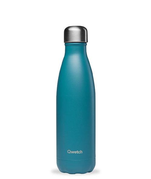 Bouteille isotherme - 500ml - bleu canard