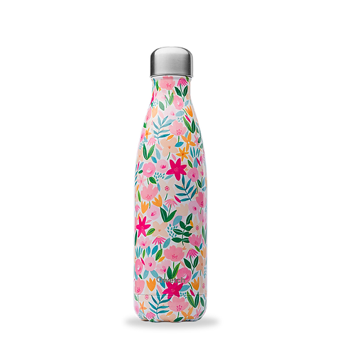 Bouteille isotherme - 500ml - flora rose