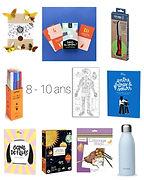 idées cadeaux 8 - 10 ans