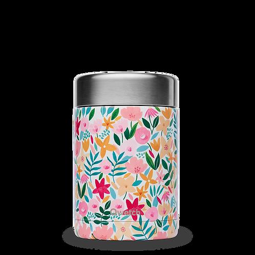Boite isotherme repas et soupe - 650ml - flora rose