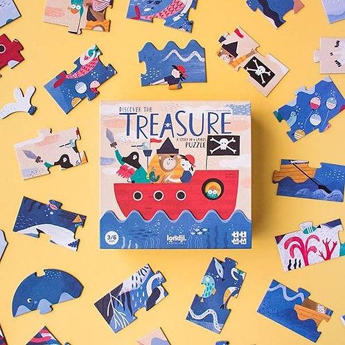 Puzzle - discover the treasure