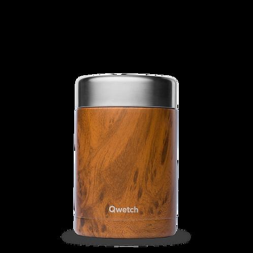 Boite isotherme repas et soupe - 650ml - wood
