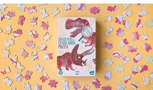 Puzzle - découvrir les dinosaures