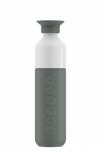Bouteille Dopper isotherme - 350ml - gris