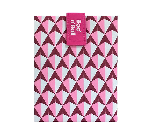 Emballage sandwichs Boc'n'Roll - tiles rose
