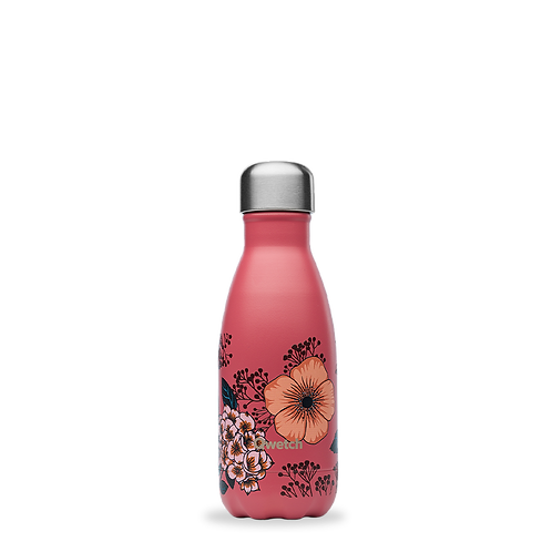 Bouteille isotherme - 260ml - anémones