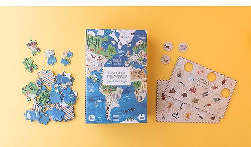 Puzzle - découvrir le monde