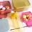 Thumbnail: Set 4 boites - paillettes gold