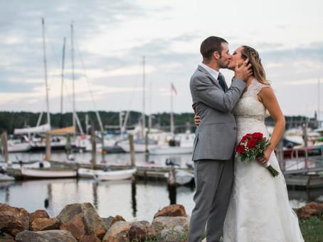 Belfast Maine Wedding: Hannah + Tim
