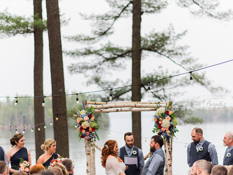 Lakeside Maine: Migis Lodge Wedding