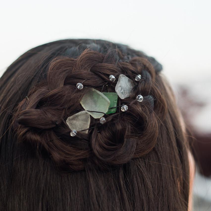 Maine Seaglass Hair