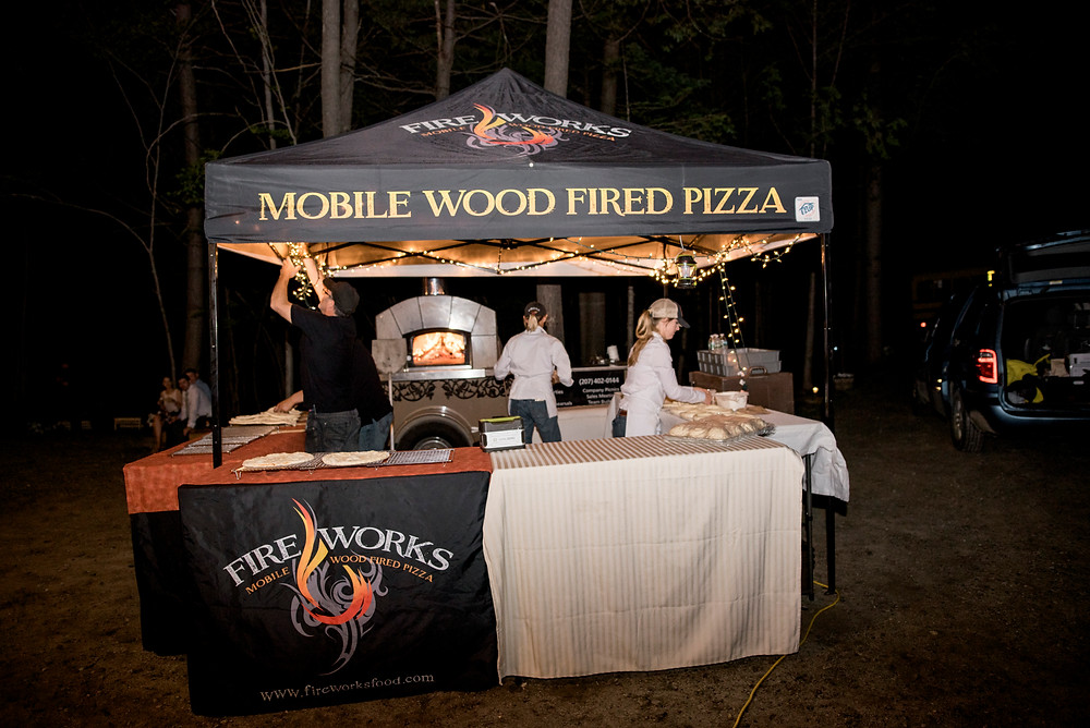 Fire Works Mobile Wood Fired Pizza in Maine