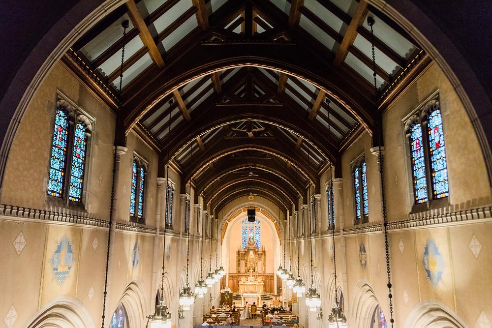 beautiful saint josephs church in portland maine