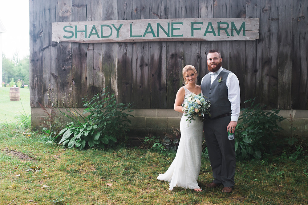 shady lane farm in new gloucester maine is a perfect wedding venue