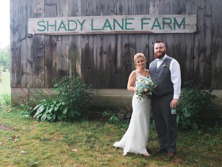 Shady Lane Farm Wedding: Billy + Meg
