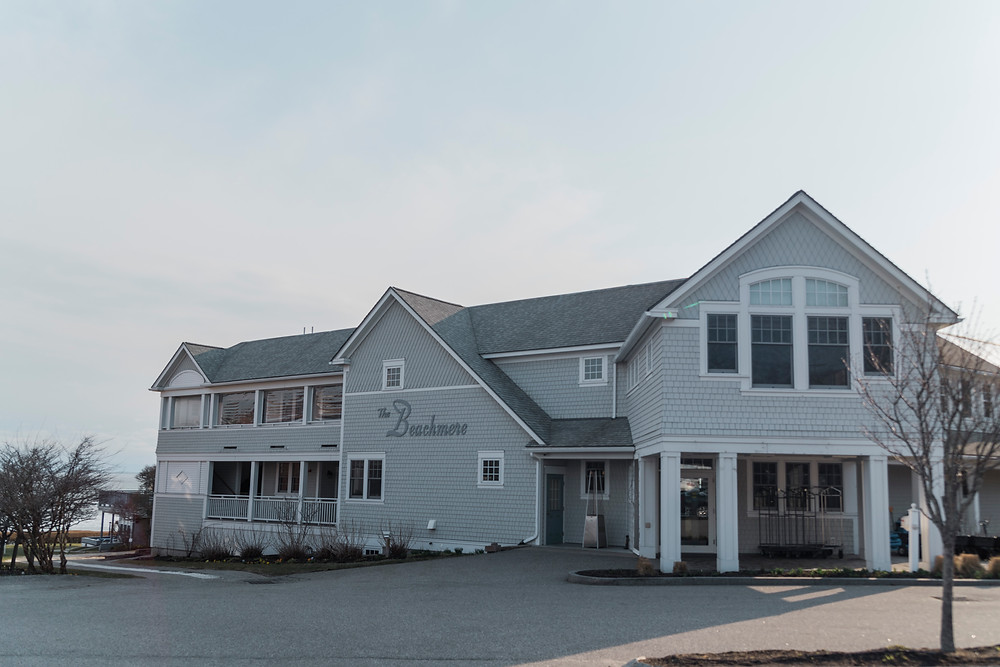 Outside view of The Beachmere Inn in Ogunquit, Maine