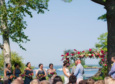 Ray & Krystyna: Great Diamond Cove Wedding Portland, Maine