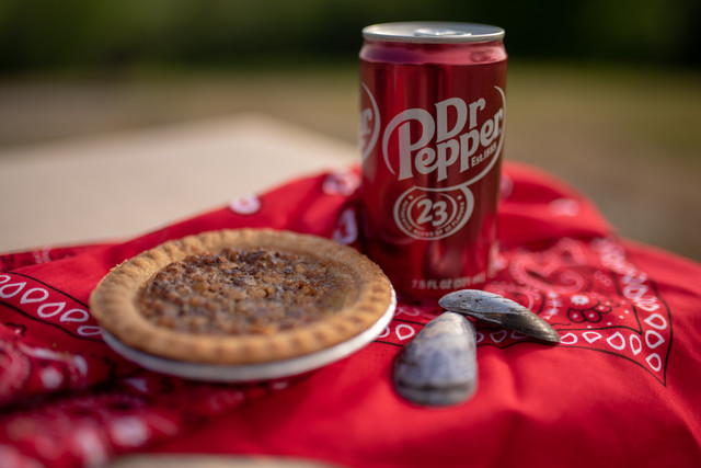 Dr Pepper and Pecan Pie!