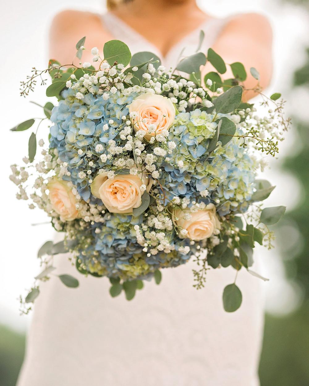 brides floral bouquet