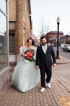 Post Ceremony Stroll Down Main Street