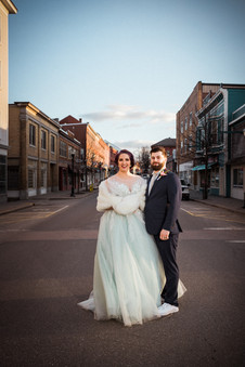 Newly Weds: March Traffic in Maine